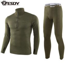 3カラーEsdyの新式の屋外スポーツの正方形の羊毛のスーツの軍隊の軍の戦術的なトレーニングの上昇温暖気流の下着