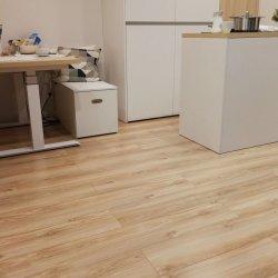 フランスのレストランの防水軽量の固体マホガニーの木製の寄木細工の床のフロアーリング