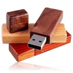 Disque flash USB Pendrive3.0/2.0 Rectangle stick USB en bois