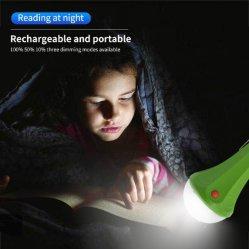 Sistema de Energía Solar hogar portátil recargable Luz de lectura de la luz de iluminación