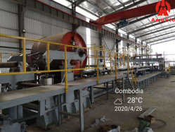 섬유 시멘트 판금/시멘트 섬유 보드/시멘트 섬유 시트/시멘트 기판/칼슘 제조 규산 보드 생산 라인