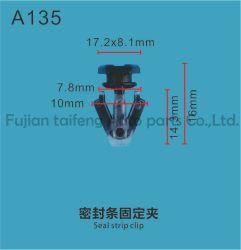 Fermo del fermo 1K025501 del pubblicitario professionale standard di messa in evidenza & clip automatici di nylon ambientali della plastica