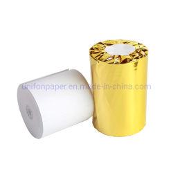 Unifon sans BPA 80mm 57mm de largeur du rouleau de papier d'Encaissement thermique POS Till Jumbo Papier ATM