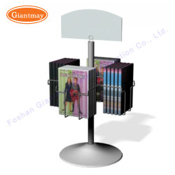 La mesa giratoria de metal CABLE DVD CD Mostrar Rack