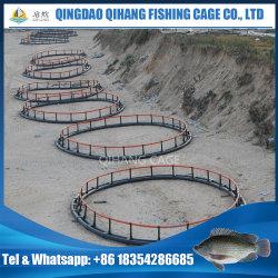 Jaula flotante costa afuera de los pescados, jaula de los pescados que cultiva para el atún