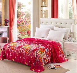 Flanela impresso de boa qualidade cobertor, roupa de cama de flanela