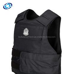 高品質の警察の弾丸の証拠および刺証拠の安全はベストの軽量の柔らかい弾道ベストを保護する