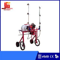pulverizadora autopropulsada de gasolina de pulverización agrícola pequeño cultivo de hortalizas de la máquina pulverizadora de árboles frutales