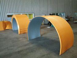 SPD-Farben-Beschichtung-Platten-Regen-Deckel für Bandförderer-System