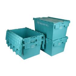 Kunststoffbehälter für Umzug, PP beweglicher Kunststoffkratte