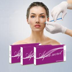 Bouchon de remplissage dermique injectable hydrogel de qualité médicale