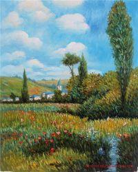 Riproduzione delle pitture a olio del Van Gogh di capolavori