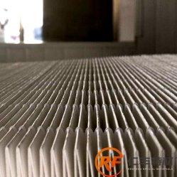 Support de papier pour les plis du filtre à air HEPA pour système de ventilation