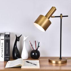 Ainsi lampe Post-Modern de lumière de bureau de table de nuit de mode en bronze antique