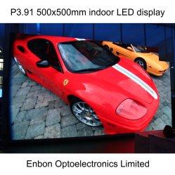 HD P4.81 500X1000mm Innen-LED-Bildschirm mit Druckguss-Aluminium-Panel