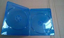 Rayo azul en blanco caja del DVD DVD DVD cubrir 7mm de doble Slim Rectange