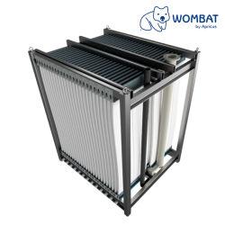 Flechte verstärkter PVDF Ultrafiltration-Membranen-Wasser-Reinigungsapparat