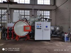 Gaz de four de trempe de vide pour le durcissement, traitement thermique sous vide four graphite Vqg thermoplongeurs