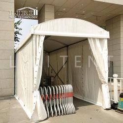 Сопротивление ветра алюминиевая рама купольную мини-палатка для проверки безопасности