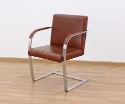 椅子(9001)を食事する平らなステンレス鋼ブルノ