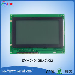 Sym240128A2V22 5.1 インチ 240X128 LCD モジュールディスプレイ SMT Stn LCD LCM