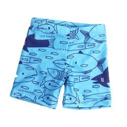 男の子の水泳パンツ動物様式の子供の水着の男の子の夏の水着