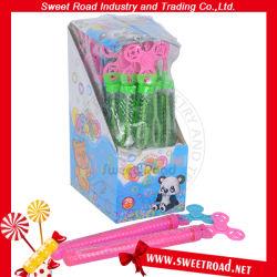 Rotor do lado de brinquedos de plástico bolha de sopro de sabão de água para as crianças