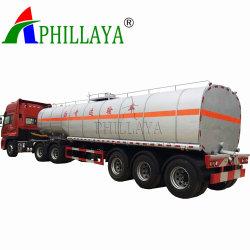Le chauffage de l'asphalte Semi Camion Citerne Réservoir de bitume semi-remorque (05)