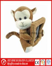 Mignon doux singe Cadre photo jouet en peluche