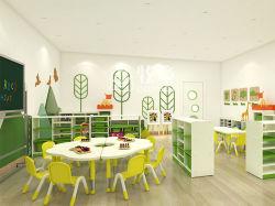 Insieme di legno della mobilia della nuova di disegno di alta qualità dei capretti dell'asilo nido pre aula del banco
