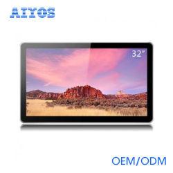 32인치 벽걸이 Android 터치 스크린 LCD WiFi 디지털 사진 프레임
