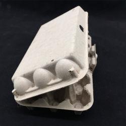 2020 Celulose de Fibra de celulose biodegradável Caixa de Ovo EGG Bandeja papel bandeja de embalagens de polpa moldada