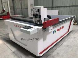 Máquina de corte oscilante multifunción de corte de cuchilla para cortar PVC esponja de cuero