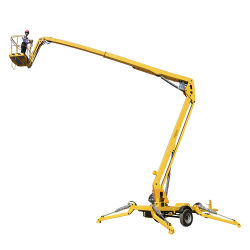 La ISO de fábrica Ce 10m-20m hombre Levante pluma telescópica Autopropulsada- Pricespider Liftlift brazo de elevación brazo telescópico