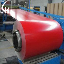 Cor ral PPGI Prepainted Aço Galvanizado bobina para materiais de revestimentos betumados