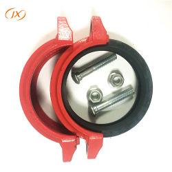 Accoppiamento Grooved dell'accessorio per tubi del ferro duttile approvato di FM/UL