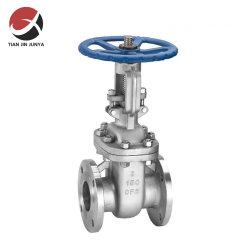 Junya OEM 공급업체 DN150 6인치 ANSI 클래스 150 라이징 스템 CF8m 스테인리스 스틸 304 316 핸드휠 플랜지형 게이트 밸브 물, 증기, 오일 배관 시스템
