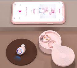 Tw70 Tws Venda quente fone de ouvido Bluetooth sem fios auriculares Bluetooth Headset menina presente de Natal