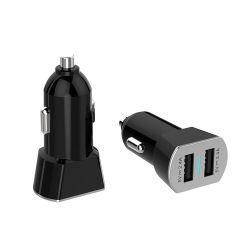 Китай Shenzhen Electronics телефон Dual USB зарядное устройство для автомобильного прикуривателя