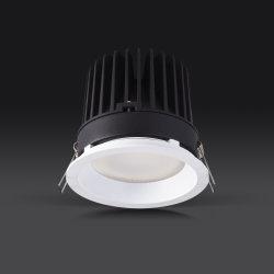 apparecchio d'illuminazione glassata anabbagliante Downlights dell'obiettivo LED di 10W 15W 20W 25W
