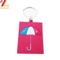 De leuke Gift Van uitstekende kwaliteit van de Juwelen van pvc Keychain van het Silicone Customed (yb-u-2)