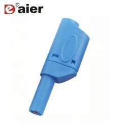 32A de kleurrijke Veiligheid isoleerde volledig de Stapelbare Schakelaars van de Stop van de Banaan van 4mm