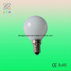 Opalen LEIDENE G45 0.7W E14 Bol, de Lampen van het LEIDENE G45 Koord van Kerstmis, het LEIDENE E14 G45 Berijpte Licht van de Decoratie