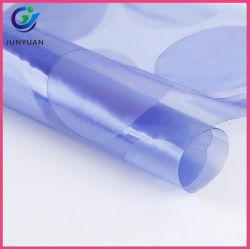 Película de PVC transparente de la atracción electrostática película protectora de color azul