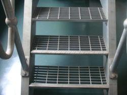 En el exterior Rejilla de acero galvanizado para la industria Escaleras Escalera