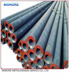 Recubierto con y sin recubrimiento de tubería sin costura de tubos de acero al carbono sin fisuras, ASTM A106b/API5l/API5CT/ASME 36.10, Tubo de las LSM