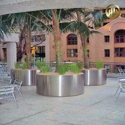 새로운 디자인 스퀘어 메탈 영농 식물 용기