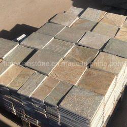 다색 석가석 포장기, 클래딩, 카핑, 바닥재 타일
