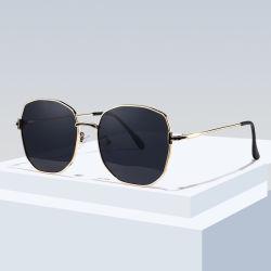 Mode Trendy Lunettes de soleil polarisées de métal