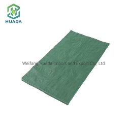 低の卸売は緑PPによって編まれた包装袋をリサイクルした